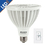Bulbrite LED20PAR38WFL/30K/D 20-Watt Dimmable LED PAR38, Medium Base, Soft White