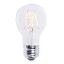 Bulbrite LED5A19/227K/FIL/2 5 Watt LED Clear Filament Dimmable A19 Bulb, Medium (E26) Base, Warm White Finish