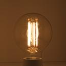 Bulbrite LED5G25/22K/FIL-NOS/2 5 Watt LED Nostaglic Filament G25 Bulb, Medium (E26) Base, Antique Finish