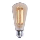 Bulbrite LED5ST18/22K/FIL-NOS/2 5 Watt LED Nostaglic Filament ST18 Bulb, Medium (E26) Base, Antique Finish