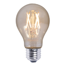 Bulbrite LED5A19/22K/FIL-NOS/2 4 Watt LED Nostaglic Filament A19 Bulb, Medium (E26) Base, Antique Finish