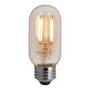 Bulbrite LED4T14/22K/FIL-NOS/2 4 Watt LED Nostalgic Filament T14 Bulb, Medium (E26) Base, Antique Finish