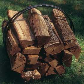 "BOSMERE Z472 Wood Pile Cover for Hoop (38"" x 15"" x 43"" high)"