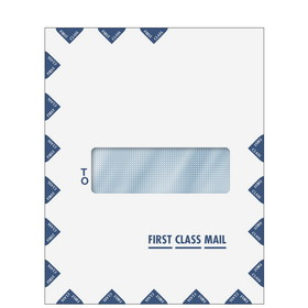 Super Forms First Class Mail Single Window Envelope - Moisture Seal (80554)