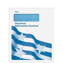 Super Forms 80920 Folders & Envelopes Tax Return Envelopes 1040 Window PatrioticEnvelope - Peel & Close (80920)