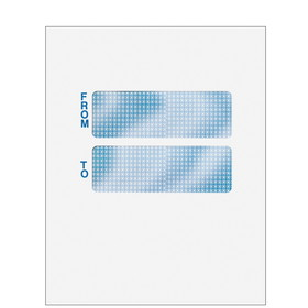 "Super Forms Double Window Envelope 9-1/2"" x 12"" - Blank (CCLNT9A10)"