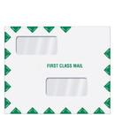 Super Forms ENV400 Folders & Envelopes Software Compatible Envelopes Double Window First Class Tax Return Filing Envelope (ENV400)