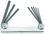 """Bondhus Set 8 Hex Metal Handle Fold-up Tools .050-5/32"""""""