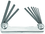 """Bondhus Set 9 Hex Metal Handle Fold-up Tools .050-3/16"""""""