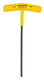 "Bondhus 9/64"" Hex T-Handle 6"" Length, Price/2"
