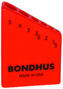 Bondhus Bondhex Case Holds 6 L-Wrenches 1.5-5mm
