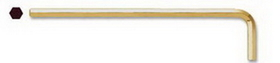 Bondhus .71mm GoldGuard Plated Hex L-wrench - Long - Tagged & Barcoded, Price/10