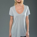 MOCO 3MM155 ECO MicroModal Fine Jersey Short Sleeve U-Neck Tee