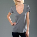 MOCO 4SMMJ202 eco-HYBRID Micro Jersey Short Sleeve U-neck Tee