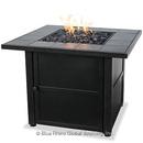 UniFlame GAD1399SP Lp Gas Outdoor Firebowl With Slate Tile Mantel