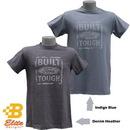 Belite Designs Belite Designs Built Ford Tough Distressed Look Tee DENIM HEATHER- XXX LARGE -BDFMST125