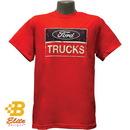 Belite Designs Belite Designs Ford Trucks Distressed Logo Tee Shirt RED- SMALL -BDFMST137