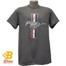 Belite Designs Belite Designs Ford Mustang Tri-Bar Distressed Logo T-Shirt XX LARGE -BDFMST152