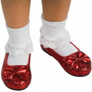 Rubies Costumes 100131 The Wizard of Oz - Ruby Child Slippers - Large