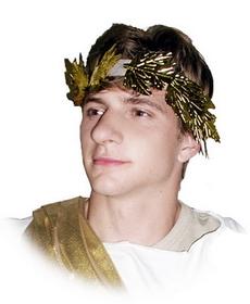 Forum Novelties 25008 Roman Wreath Headband - Size: One Size - Color: Gold