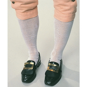 Rubies Costumes 720-WHITE Colonial Men's Socks