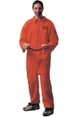 Forum Novelties 54105 Jumpsuit (Orange) Adult Costume