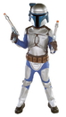 Rubies Costumes 10732-L Star Wars Jango Fett Deluxe Child Costume