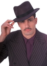 Rubies Costumes 113070 Deluxe Adult Profelt Gangster Hat