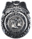 Rubies Costumes 837 Badge Police Silver