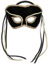 Forum Novelties 113422 Black Couples Mask