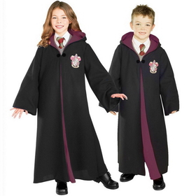Rubies Costumes 884259L Harry Potter Deluxe Gryffindor Robe Child Costume