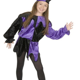 Charades Costumes 00421-LG Jester  Child Costume, Display Size: Large