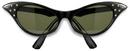 Peter Alan 7583B 1950's Sunglasses Adult