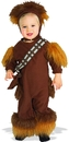 Rubies Costumes 134871 Star Wars Chewbacca Fleece Infant / Toddler Costume