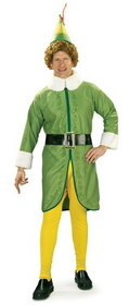 Rubies Costumes 16894STD Buddy Elf Adult Costume, Display Size: Standard