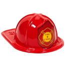Beistle 66784S Child Size Red Plastic Fire Chief Hat