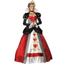 In Character Costumes 139998 Queen of Hearts Elite Collection Adult Costume - Medium