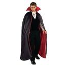 Forum Novelties 140404 Reversible Deluxe Lined Vampire Cape (Red/Black)