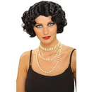 Forum Novelties 59399 Flapper Wavy Wig (Black)