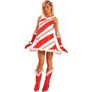 Forum Novelties 140499 Miss Candy Cane Adult Costume