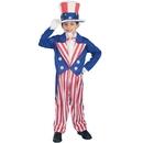 Forum Novelties 56684L Uncle Sam Child Costume