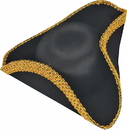Forum Novelties 140768 Deluxe Colonial Tricorn Hat - One Size