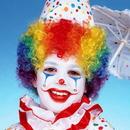 Forum Novelties 141488 Child's Rainbow Clown Wig