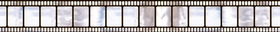 Amscan 673112 Hollywood Metallic Film Border Roll