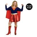 Rubies Costumes 145025 Supergirl Adult Plus Costume