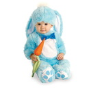 Rubies Costumes 885351/6-12MO Blue Bunny Infant Costume