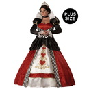 In Character Costumes 146167 Queen of Hearts Elite Collection Adult Plus Costume - XXL
