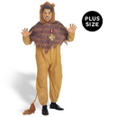 Rubies Costumes 17493 The Wizard of Oz - Cowardly Lion Adult Plus Costume