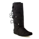 Ellie Shoes 111ThomasBlkM Thomas (Black) Adult Boots