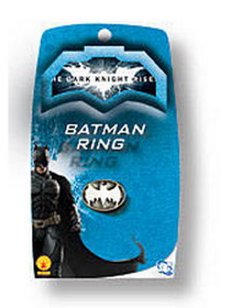 Rubies Costumes 8168 Batman The Dark Knight Rises Light-Up Ring - Size: One Size - Color: Silver